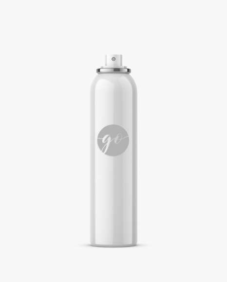 Spray bottle mockup / glossy / 300 ml