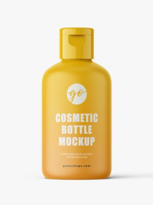 Matt Cosmetic bottle mockup 100 ml