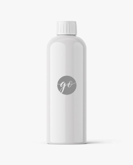 Glossy cosmetic bottle mockup #P0033