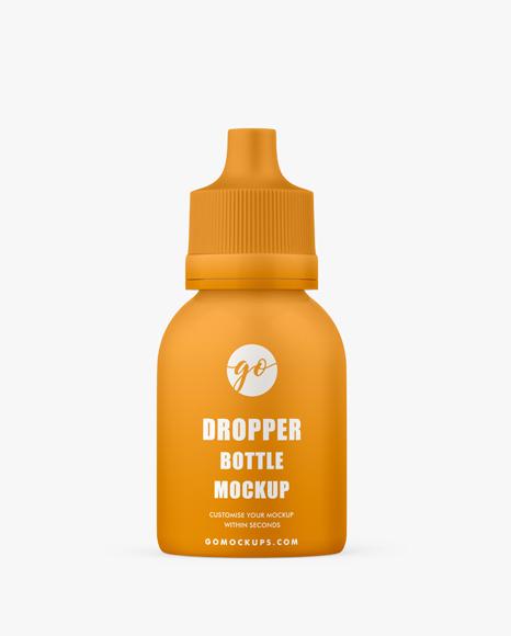 Dropper bottle mockup #P0035