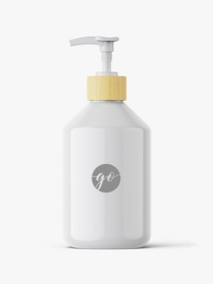 cosmetic bottle mockup #P0044