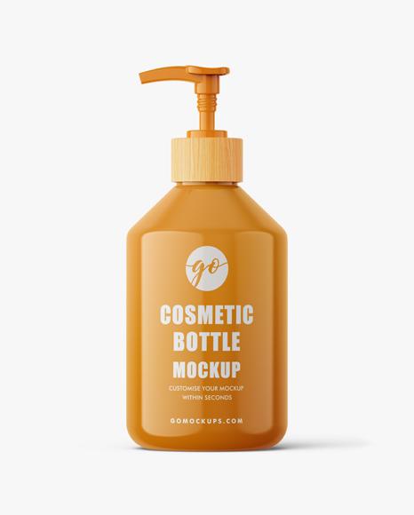 cosmetic bottle mockup #P0044